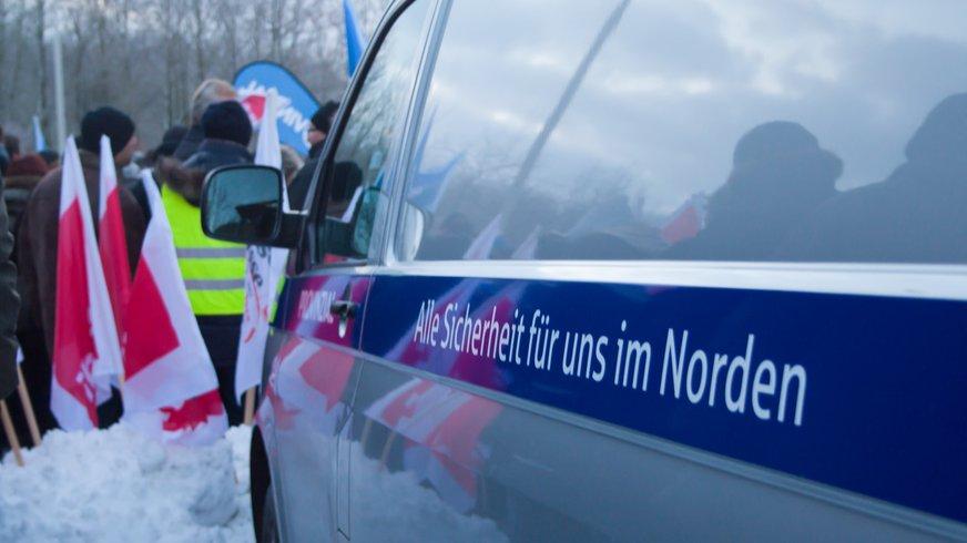 Aktion bei der Provinzial in Kiel am 12.12.2012