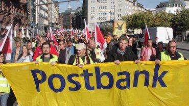 Warnstreik Postbank 23.09.2019 in Hamburg